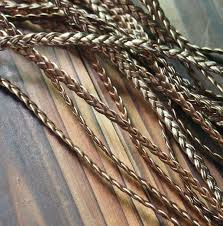 braided leather cord vintage gold copper color jewelry supplies 5mm copper quality braided leather strand craft supplies 5m