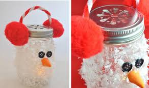 Decorated Jam Jars For Christmas 100 Diy Mason Jar Crafts Lights Storage Vases Glitter Rilane 92