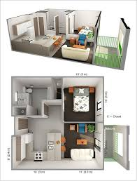 A small space doesn't have to be boring if it is designed in a smart way.  So if you are also about to get a one bedroom apartment designed take a  look ...