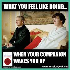 If Sherlock was a missionary... - Mission Geek via Relatably.com