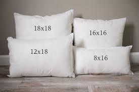 18 X 18 Pillow Inserts