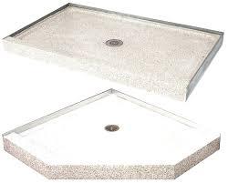 shower base shower base terrazzo shower base with bench seat