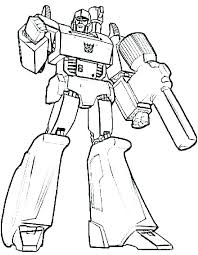 Transformer Coloring Pages Transformer Coloring Pages Printable