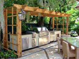 diy grill gazebo this pergola style gazebo rests over the top of this stainless steel grill diy grill gazebo