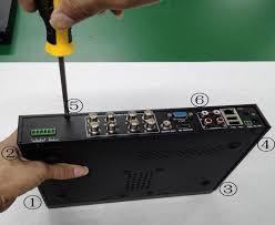 Цифровой видеорегистратор (<b>AHD</b> DVR/HVR)