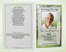funeral pamphlet what is a funeral program memorial programs funeral templates
