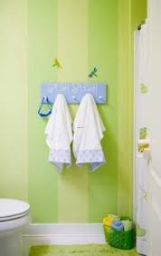captivating green bathroom. Comely Beach And Sea Kids Bathroom Ideas: Captivating Pretty Green Stripped Wallpaper Ideas M