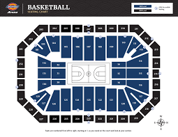Seating Maps Dickies Arena