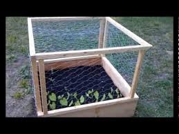 raised bed cages you