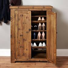 Nice Shoe Storage Cabinet Oak Rough Sawn Oak Shoe Cupboard Heyford Shoe  Cupboards Shoe