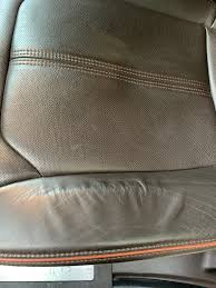 a lot of driving but i m noticing the leather is starting to stretch a little bit anyone have the same thing or ways they prevent it from happening