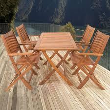 Sitzgruppe Sydney Holz Sitzgarnitur Gartengarnitur