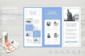 6 Sided Brochure Template 6 Fold Brochure Template New Half Page Flyer Free Design Tri Panel