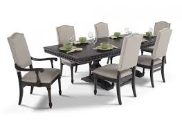 bedding gorgeous 7 piece round dining room set 39 counter height with leaf modern glass