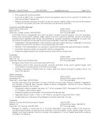 Government Resume Templates Custom Resume For Government Jobs 44 Sample Resume Format For Government