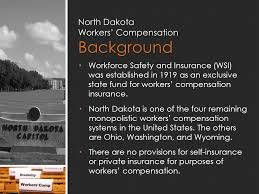 north dakota workers compensation background