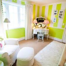 office adas features lime. Lime Green \u0026 White Striped Bedroom With Vanity Office Adas Features