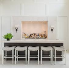 georgian revival inspiration for a transitional seated home bar remodel in dc metro chic mini bar design