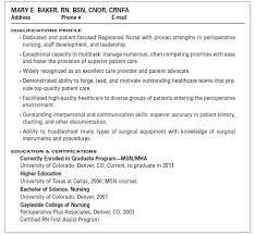 Medical Surgical Nurse Resume Sample Registered Nurse Resume Sample