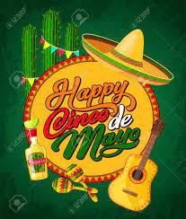 Happy Cinco De Mayo Festive Banner With ...
