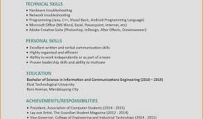 Personal Skills For Resume Sakuranbogumi Com