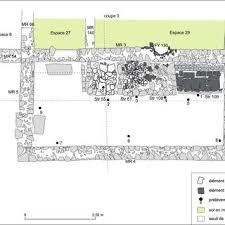 Plan De La Domus De La Fontainotte à Grand Vosges Dao P Martin