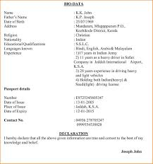 All Resume Format Free Download Free Download Useful Marriage Resume Format Free Download For
