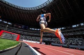 Tokyo Olympics Stadium holds athletics ...