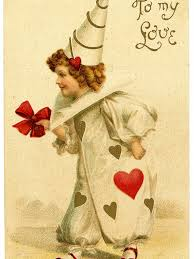 Free download Vintage Valentines Day Clip Art Darling Clown Girl The  [1033x1600] for your Desktop, Mobile & Tablet   Explore 47+ Valentine  Wallpaper Free Fairies   Valentine Wallpaper Free Fairies, Free Wallpaper