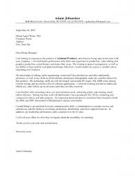 Cover Letter Examples For Internship. Do Do I Need A Cover Letter