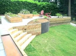 retaining wall ideas landscaping cinder block garden design wooden uk retaining wall ideas