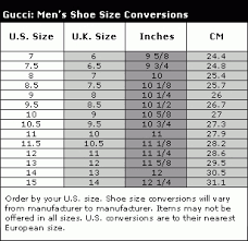 Gucci Size Chart 49 Experienced Gucci Size Conversion