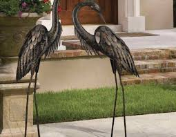 garden cranes. Full Size Of Ornament:amazing Crane Garden Ornaments Grand Cranes Bronze Statues Metal