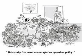 open door policy cartoon 16 of 18
