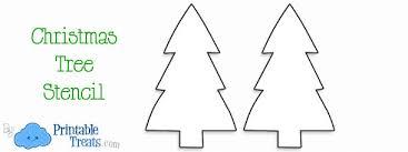 Printable Christmas Tree Printable Blank Wide Christmas Tree Sowmyapatapati Com