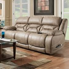 cal power reclining sofa with power headrests