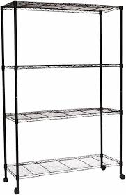 4 shelf wire shelving unit