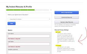 Make A Resume On Indeed Should You Upload Your Resume On Sites Like Indeed Tips To