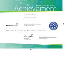 Ms Certificate Tirevi Fontanacountryinn Com