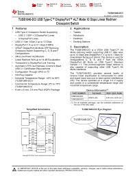 Tusb1046 Dci Usb Type C Displayport