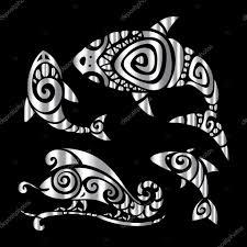 тату полинезия браслет ящерицы полинезийской татуировки стиль