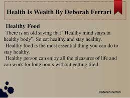 essay on health is wealth order custom essay tsa oxford essay help