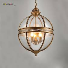 hanging lamp shades glass vintage loft glass globe pendant light iron round ball lamp shade hanging