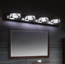 lighting for bathroom mirror. Fashion Modern Bathroom Mirror Wall Sconce Crystal Lamp LED Lights For Home Indoor Lighting H