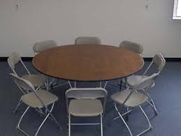 60 inch round table with chairs