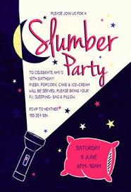 sleepover template free sleepover party invitation templates greetings island