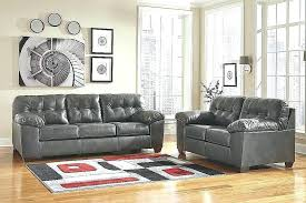 black leather sectional ashley furniture couches sleeper grey sofas