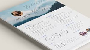 Resume Template Indesign Free 20 Free And Premium Best Resume