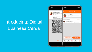Digital Business Card All New Digital Business Cards Scan Leads Connections With Ease