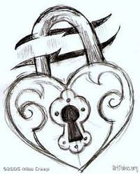 lock and key drawing.  And Key And Lock Drawings  This Is Just A Sketch For Simple Tattoo Idea More Throughout Lock And Key Drawing 6
